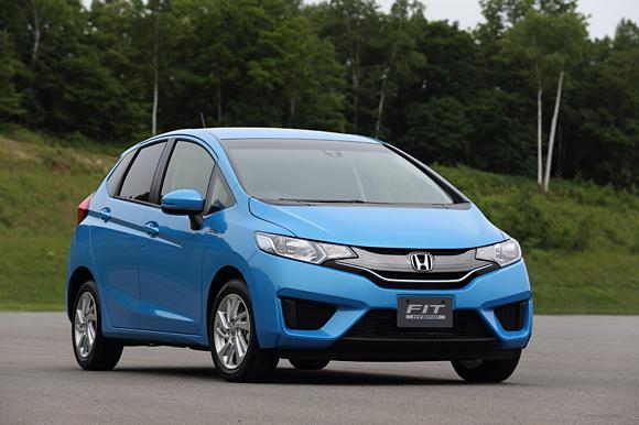 2014 Honda Jazz Fit hybrid