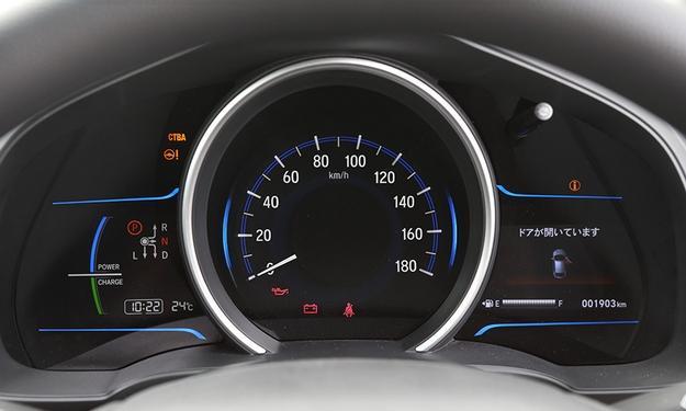 2014 Honda Jazz Fit instrument console