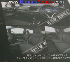 2014 Honda Jazz Fit interior