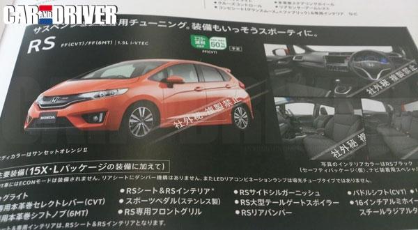 2014 Honda Jazz RS version
