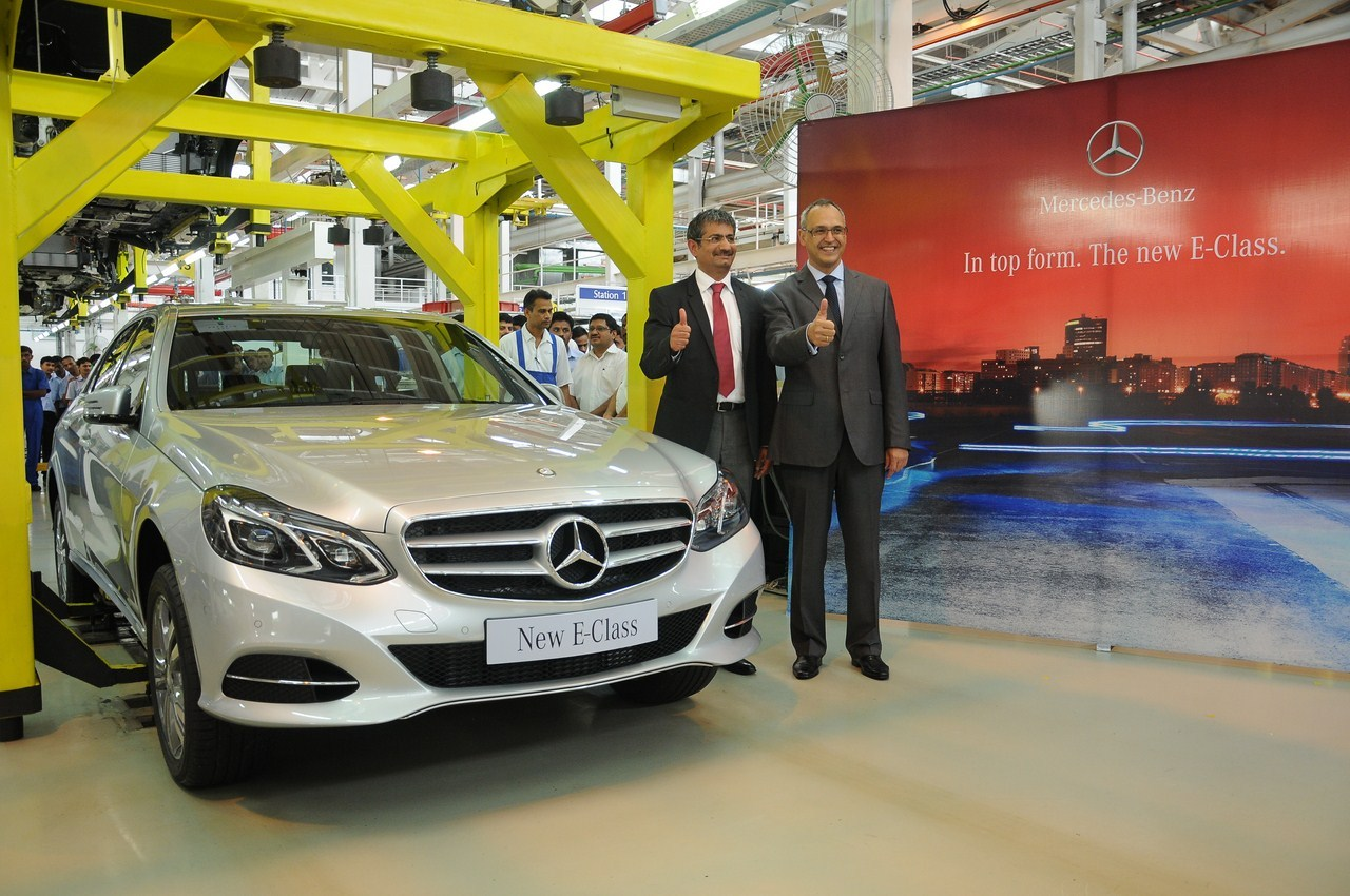 2014 Mercedes E Class CKD assembly India
