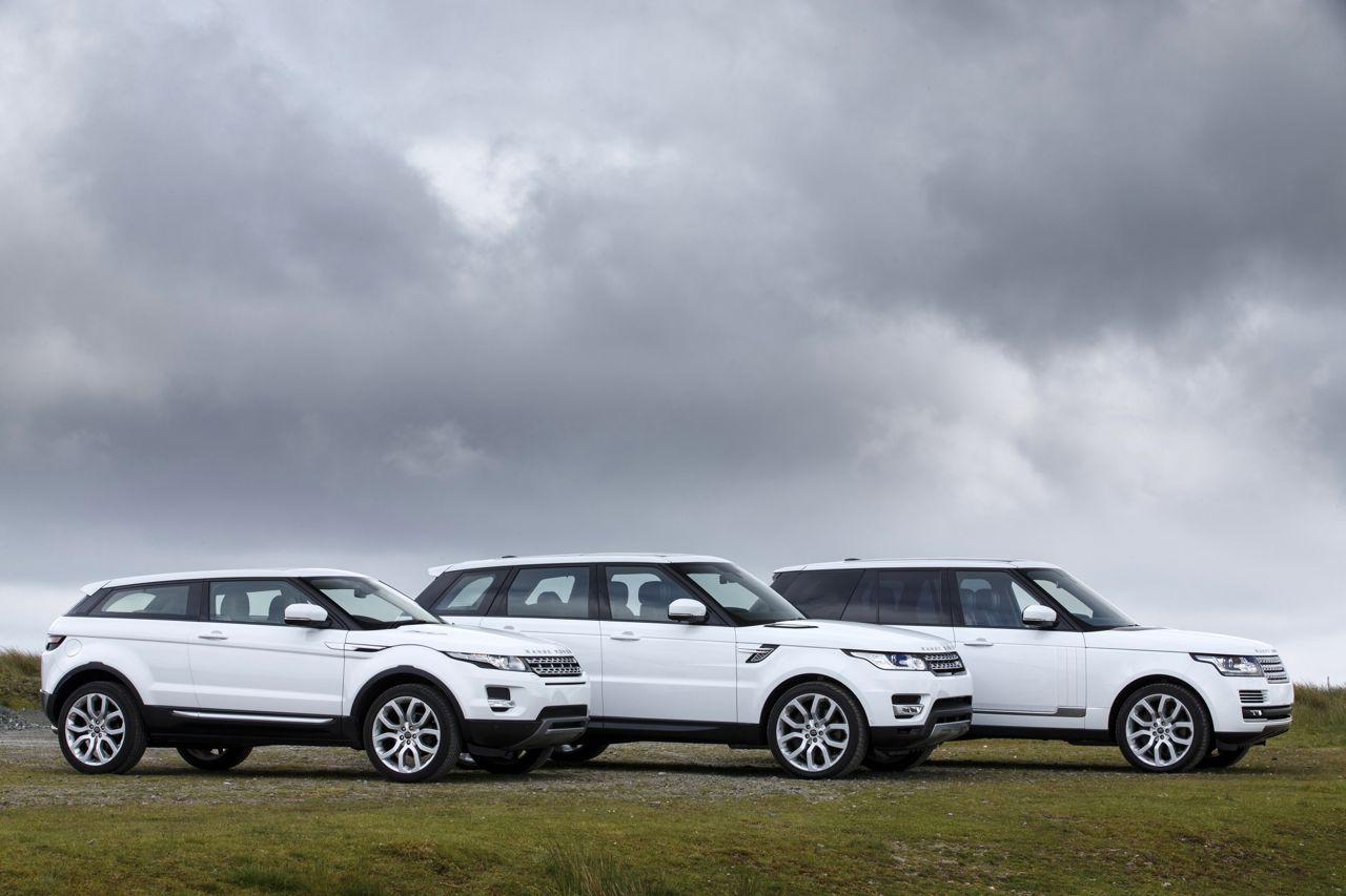 2014 Range Rover Sport vs 2013 Range Rover vs 2012 Range Rover Evoque