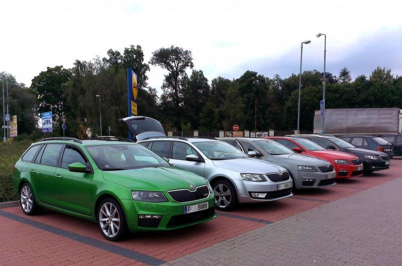 2014 Skoda Octavia vRS edition