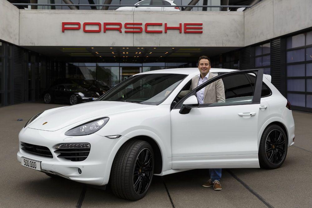 500000 Porsche Cayenne made in Leipzig