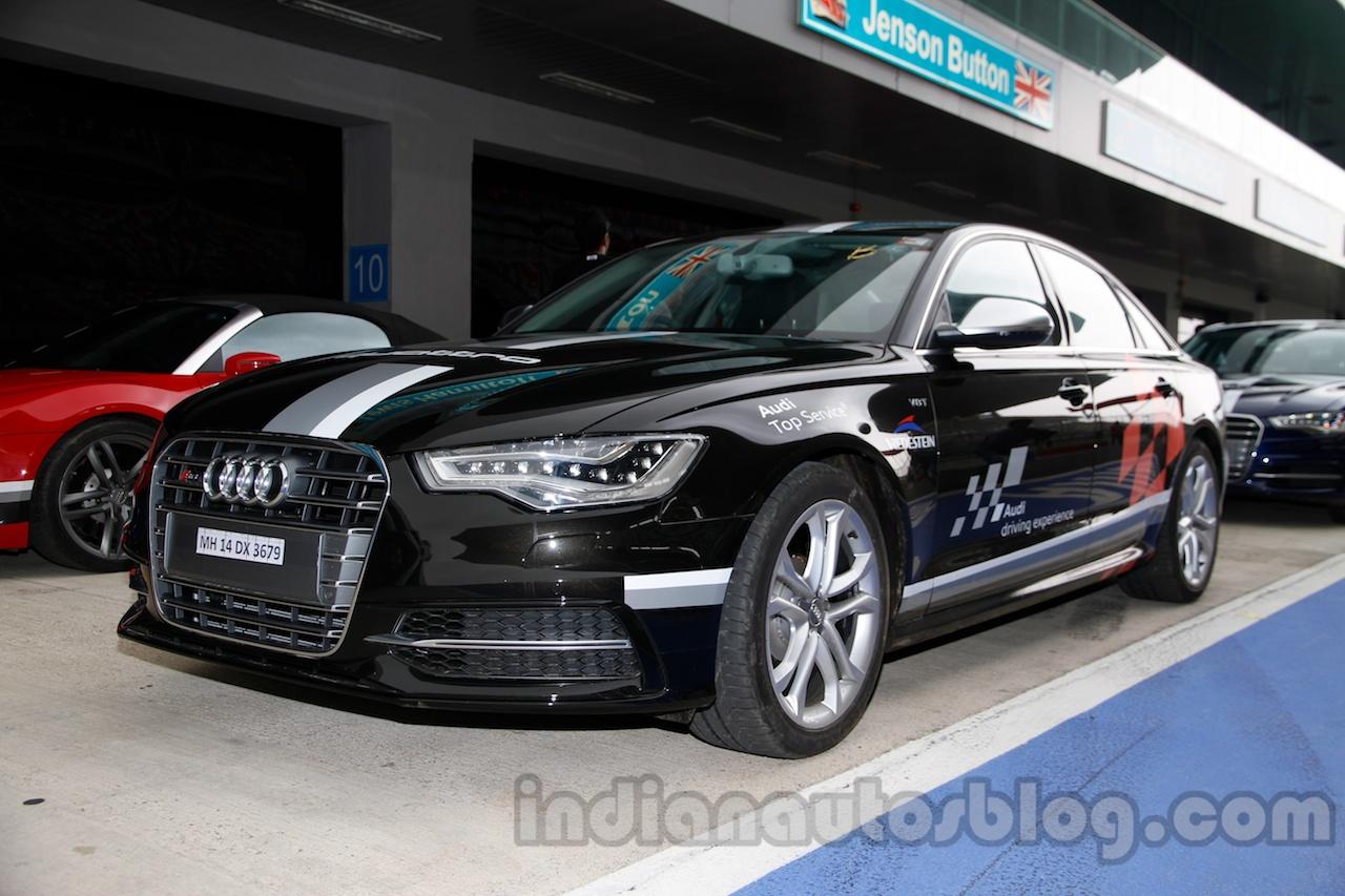 Audi S6 front three quarters