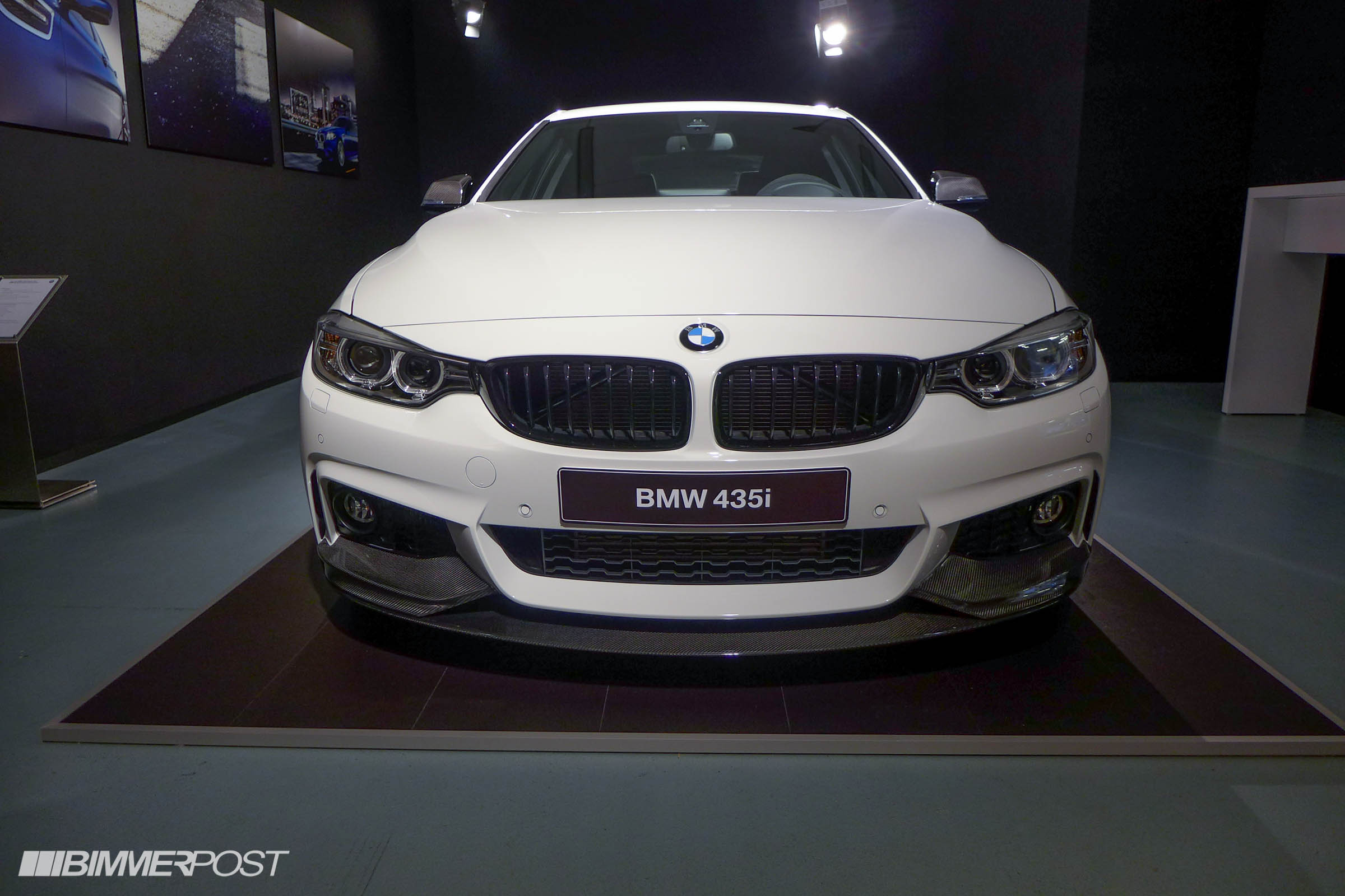 Bmw 4 Series With M Performance Parts Unveiled