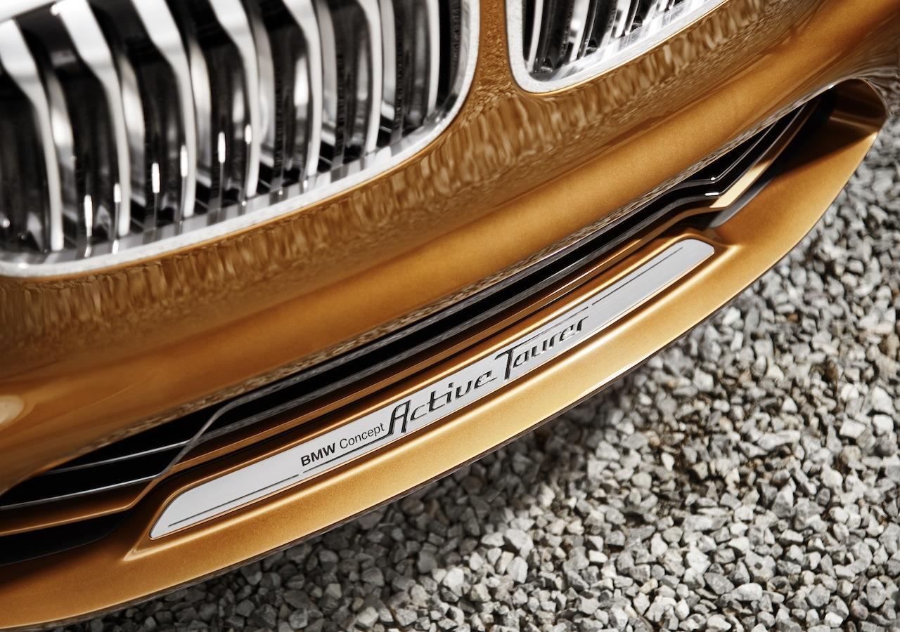 BMW Concept Active Tourer Outdoor bumper front