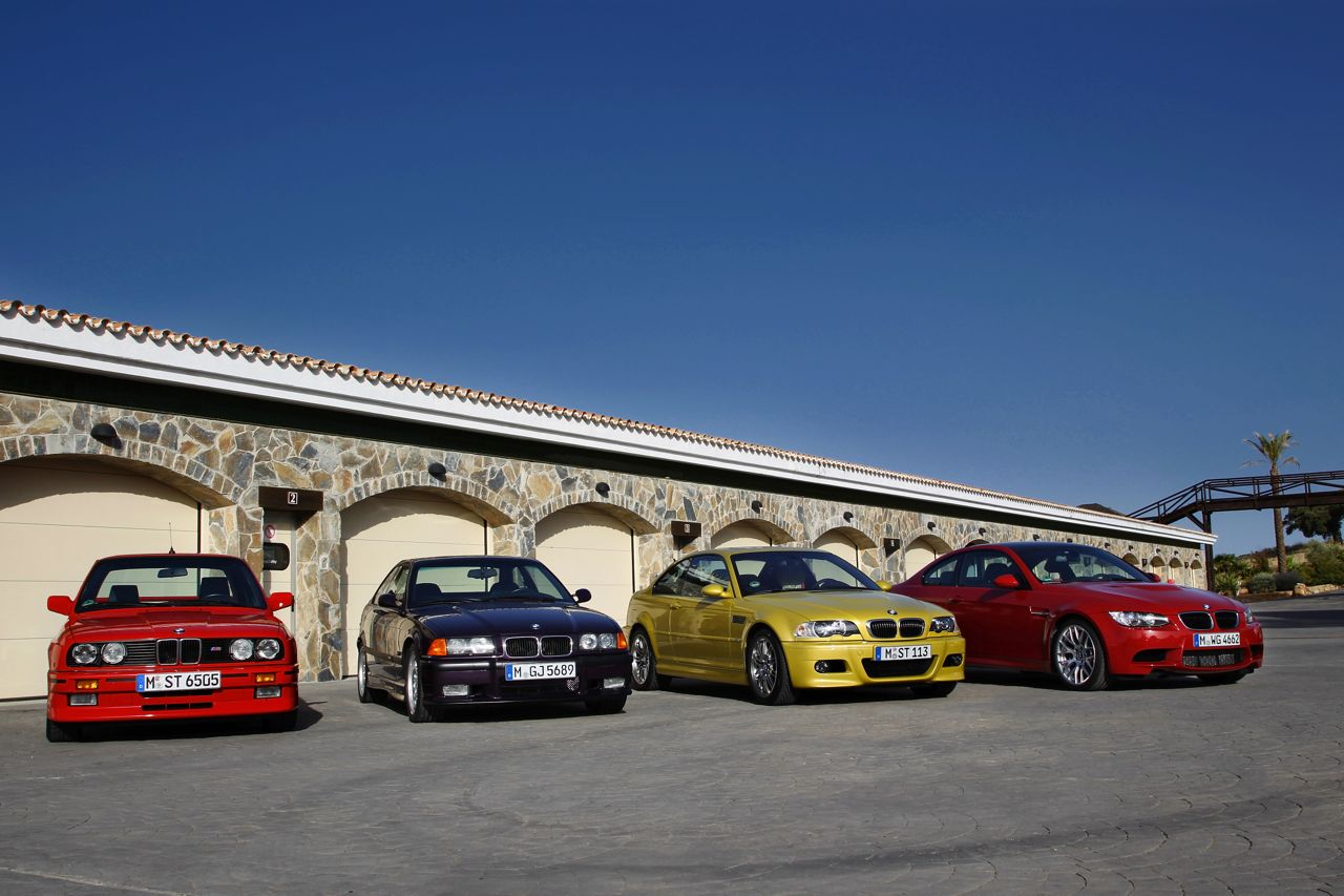 BMW M3 Coupe through the generations