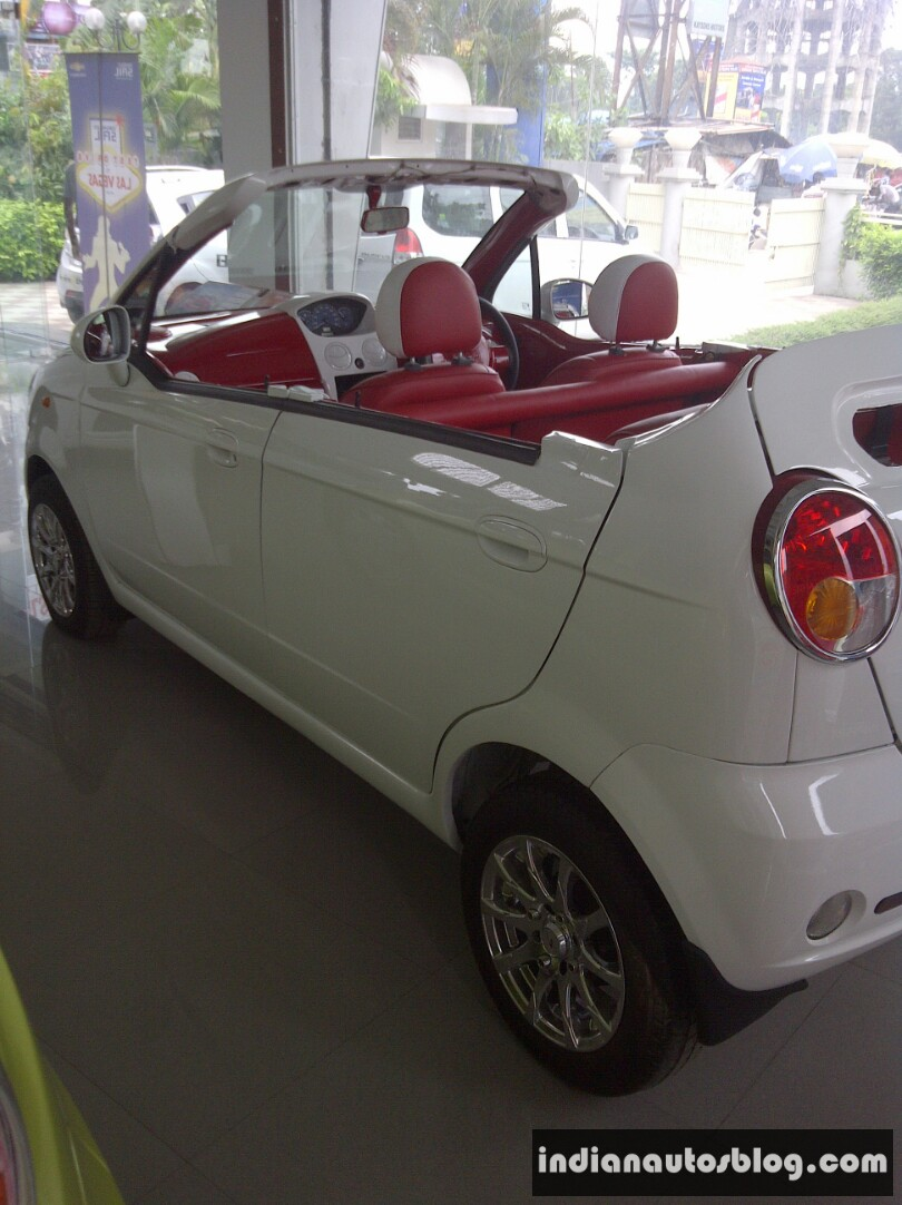 Chevrolet Spark Convertible is a modified 4-door hatchback