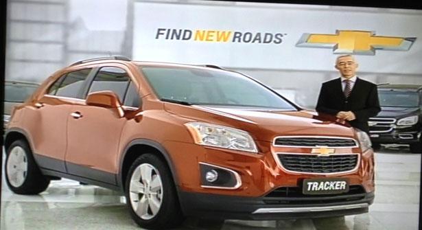 Chevrolet Tracker Brazil