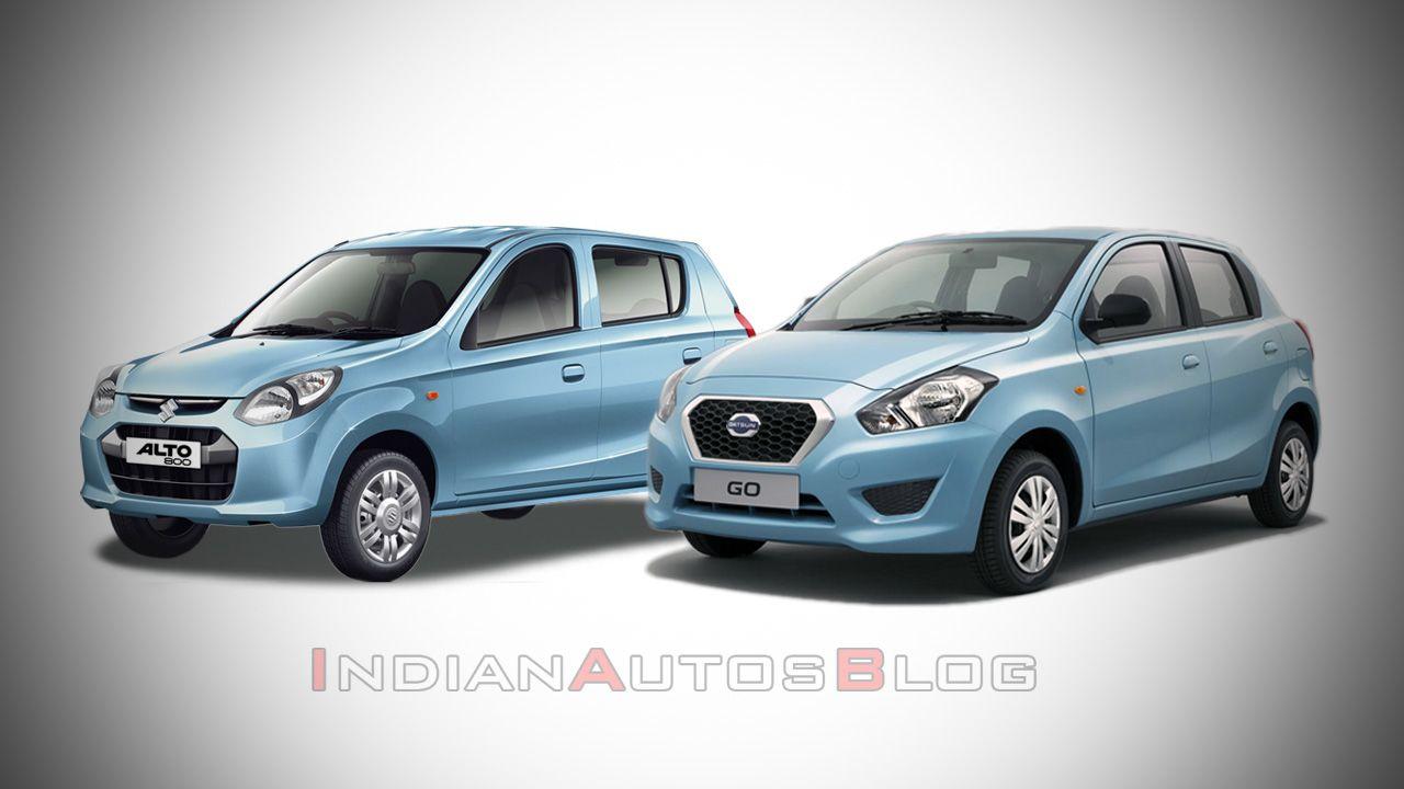 Datsun Go Maruti Alto 800 copy