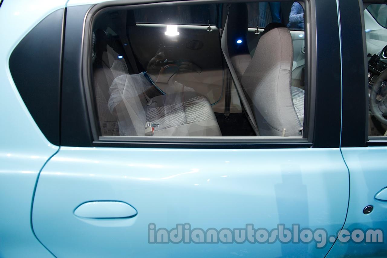 Datsun Go rear window