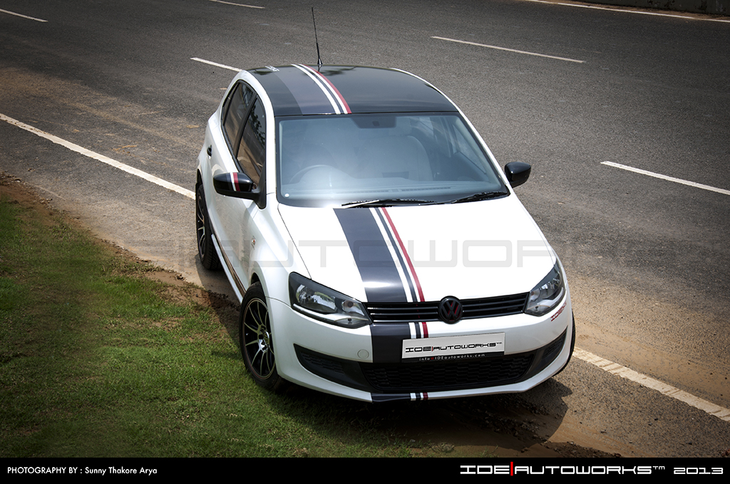 Front Three Quarter Of The VW Polo Modified By IDE Autoworks