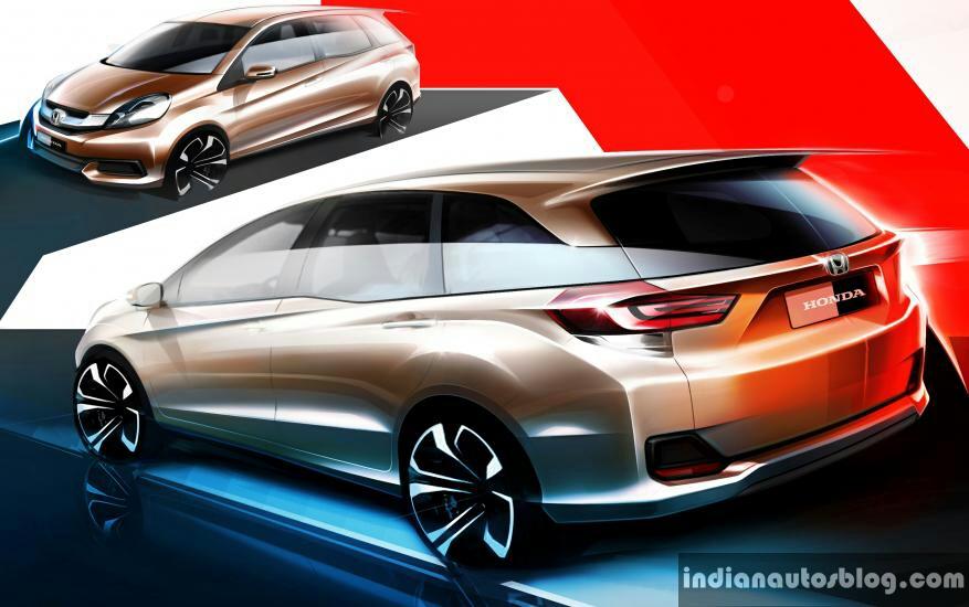 Honda Brio MPV India-bound