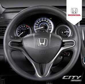 Honda City Sports steering wheel