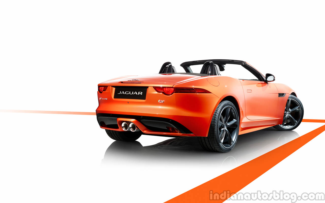 Jaguar F-TYPE rear three quarter