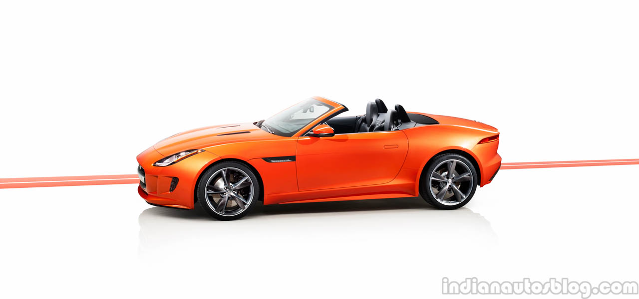 Jaguar F-TYPE side