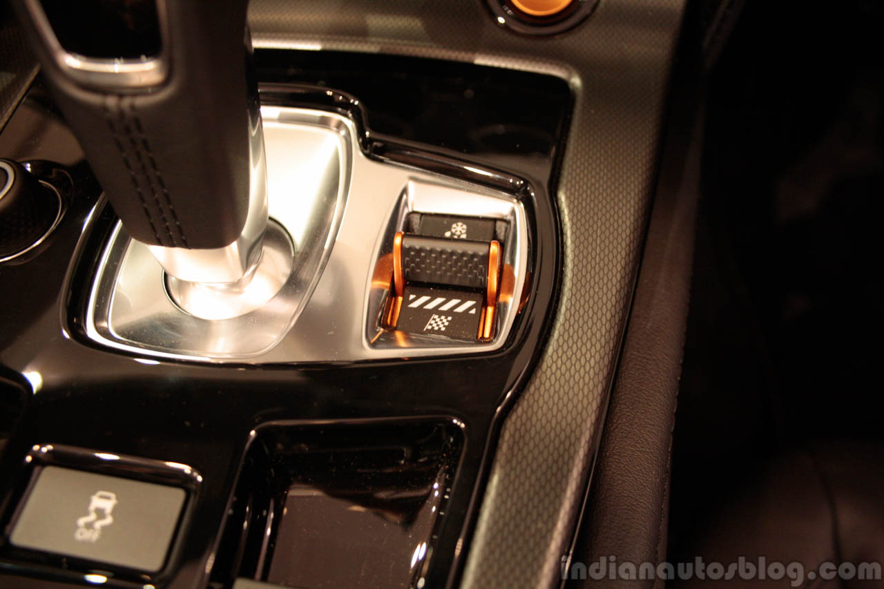 Jaguar F-Type dynamic selector