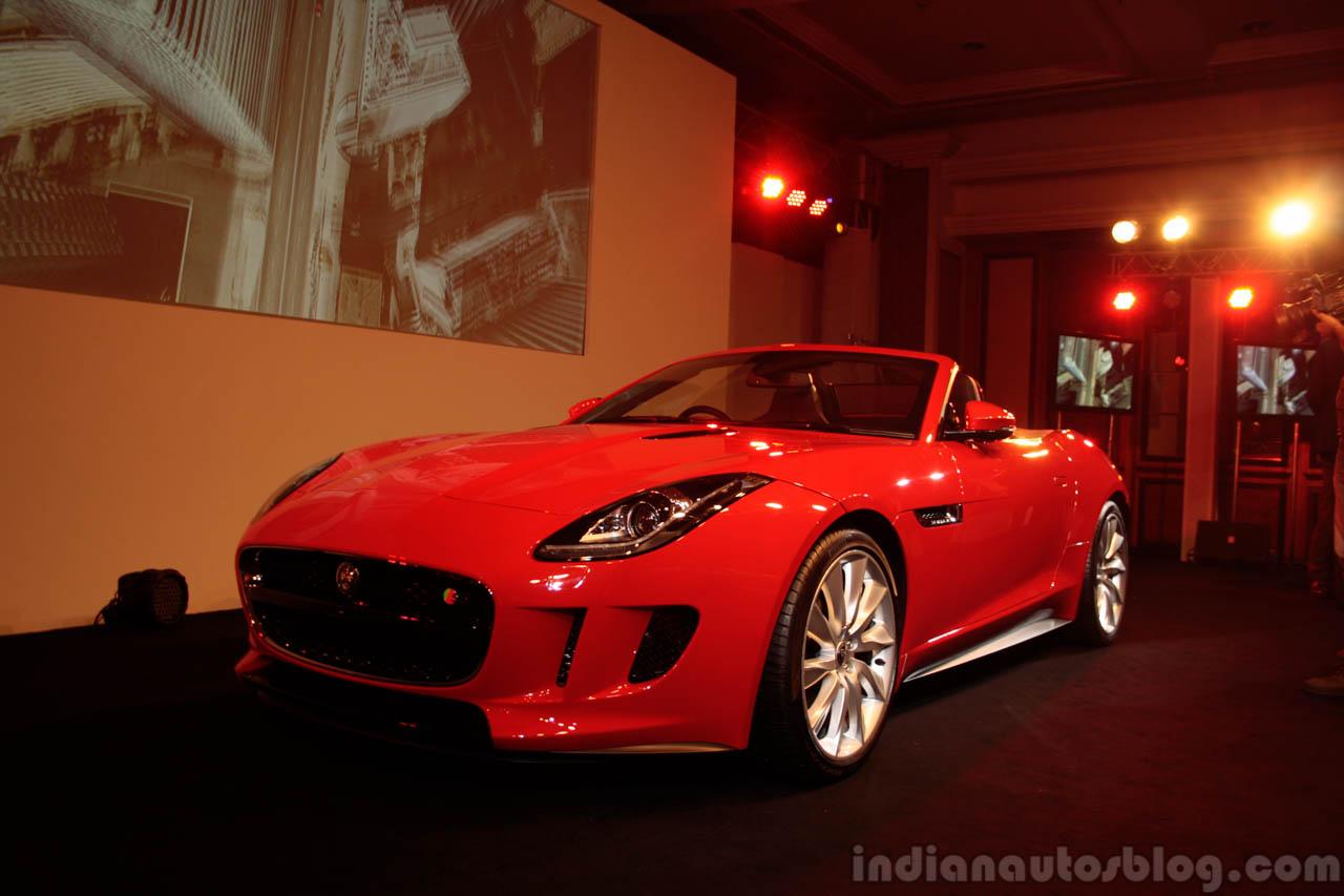 Jaguar F-Type front three quarter