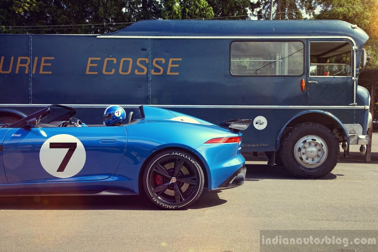 Jaguar Project 7 rear fender