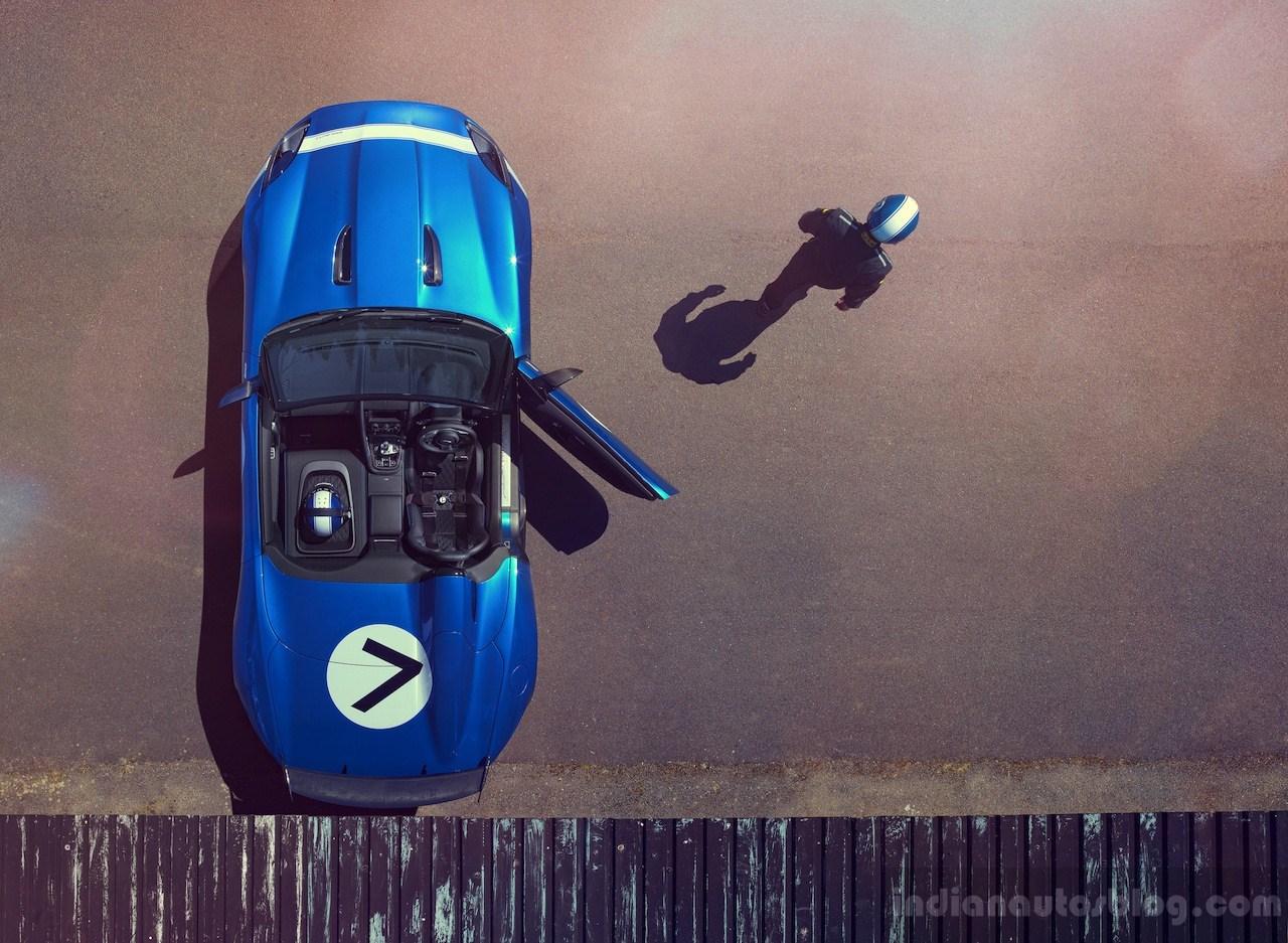 Jaguar Project 7 top door open