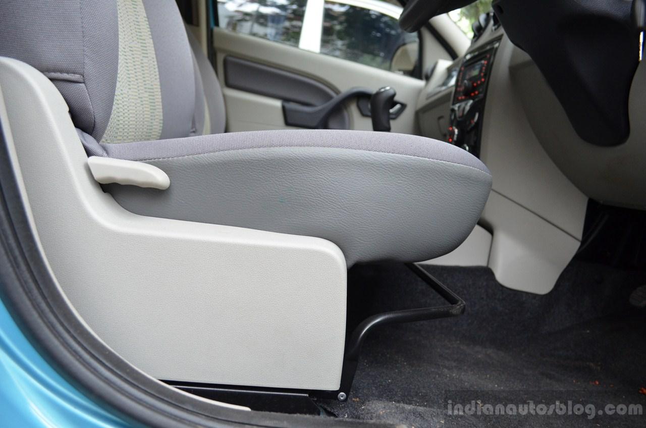 Mahindra Verito Vibe drivers seat