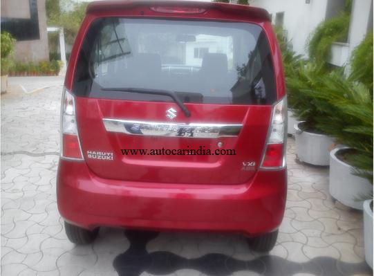 Maruti Wagon R Stingray spied rear