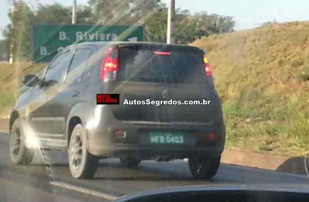 New Fiat Uno facelift