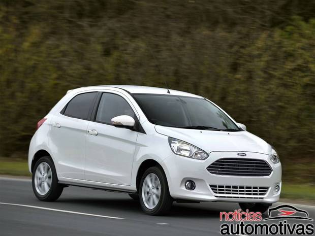 Next generation Ford Figo rendering - Front