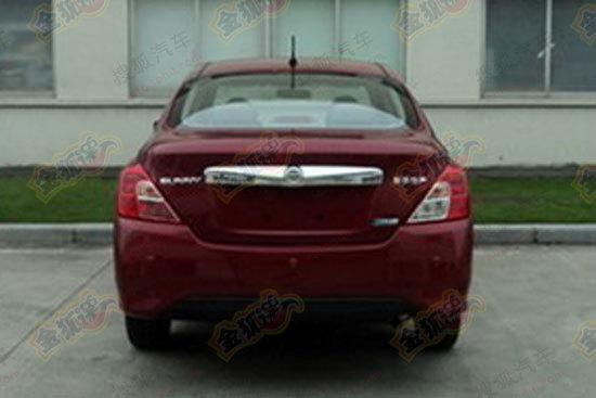 Nissan Sunny rear facelift