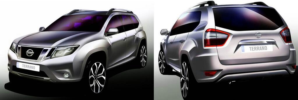 Nissan Terrano revealed