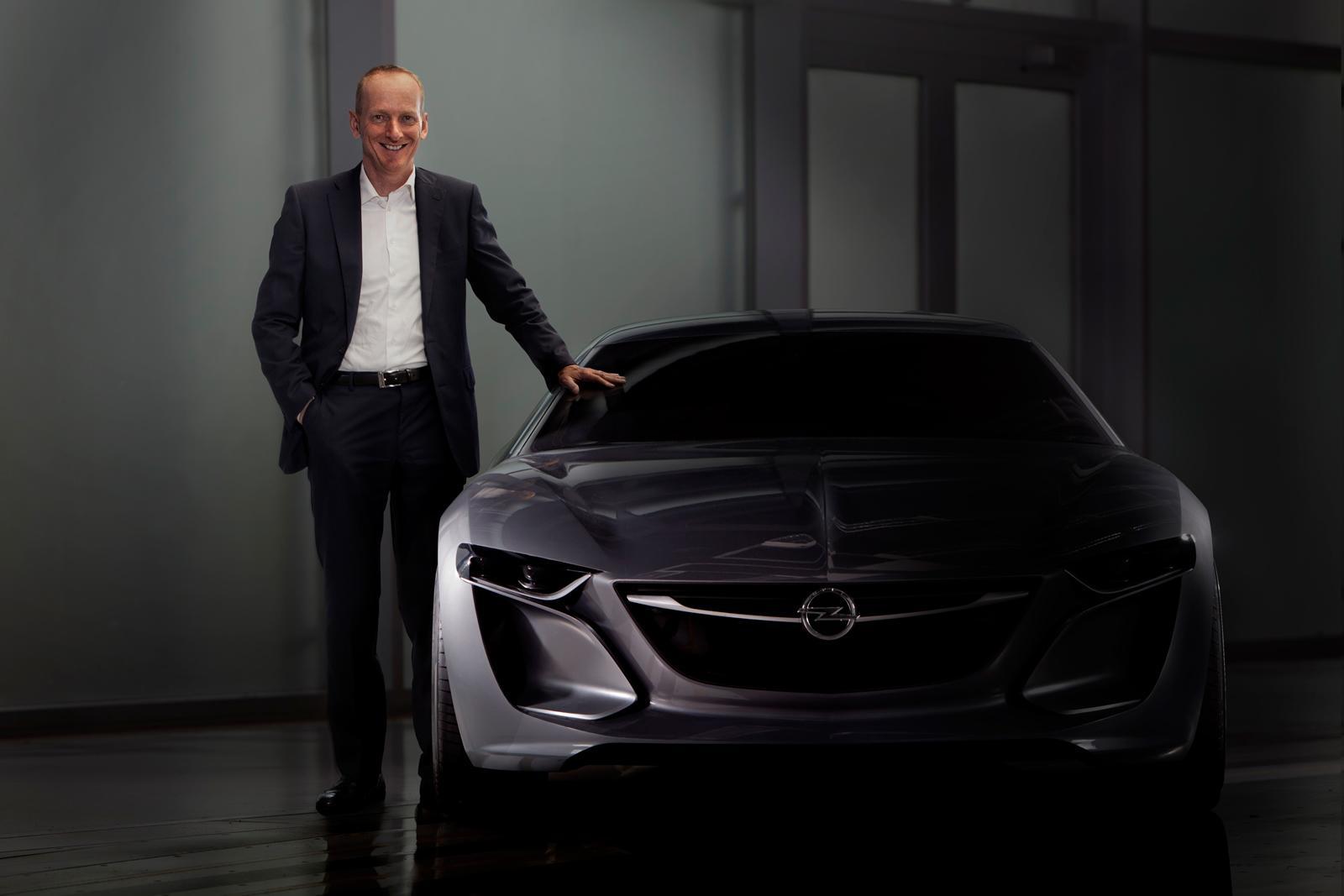 Opel:Vauxhall Monza concept front