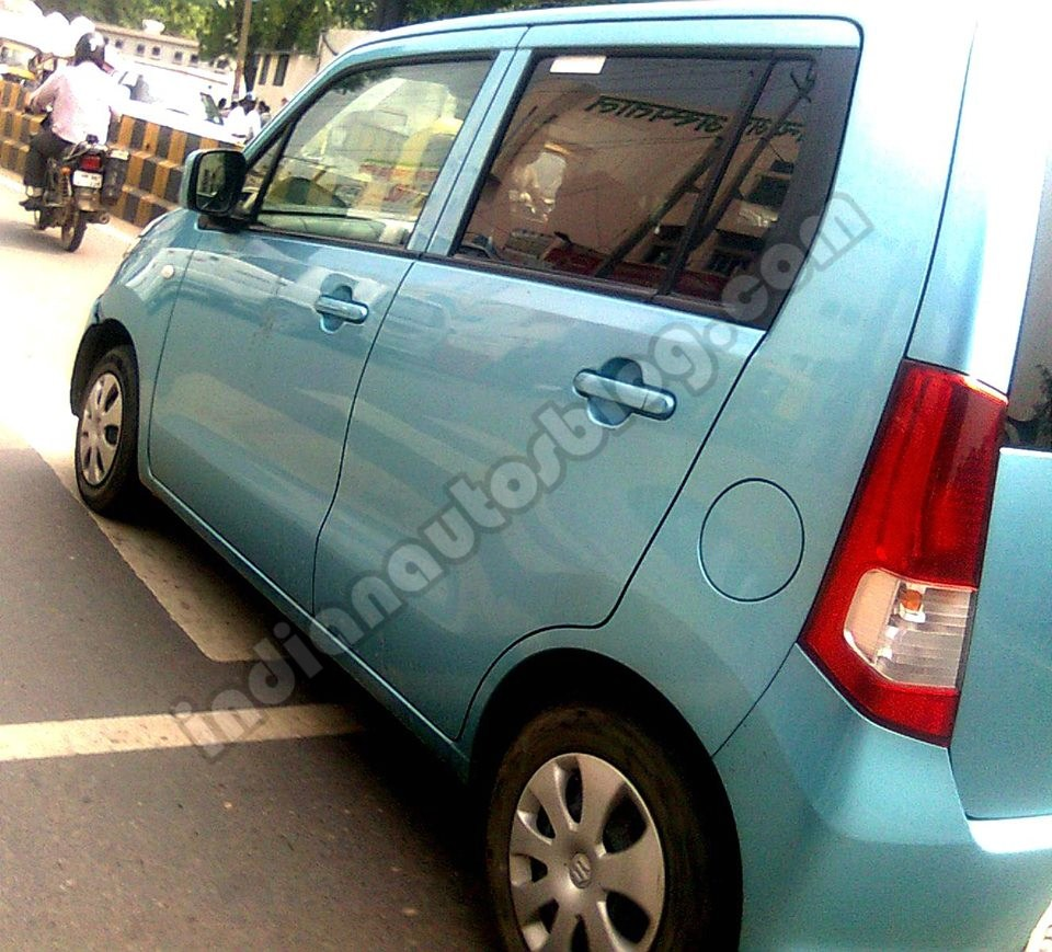 Suzuki Wagon R JDM caught testing in India