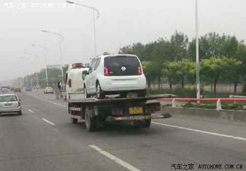 Vw Up! spied in China rear