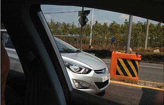 2014 Hyundai Elantra Avante spied front