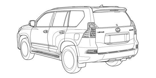 2014 toyota land cruiser prado  u0026 2014 lexus gx rendered