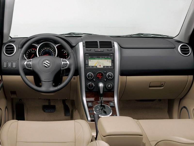 2014 Suzuki Grand Vitara Brazil - interior