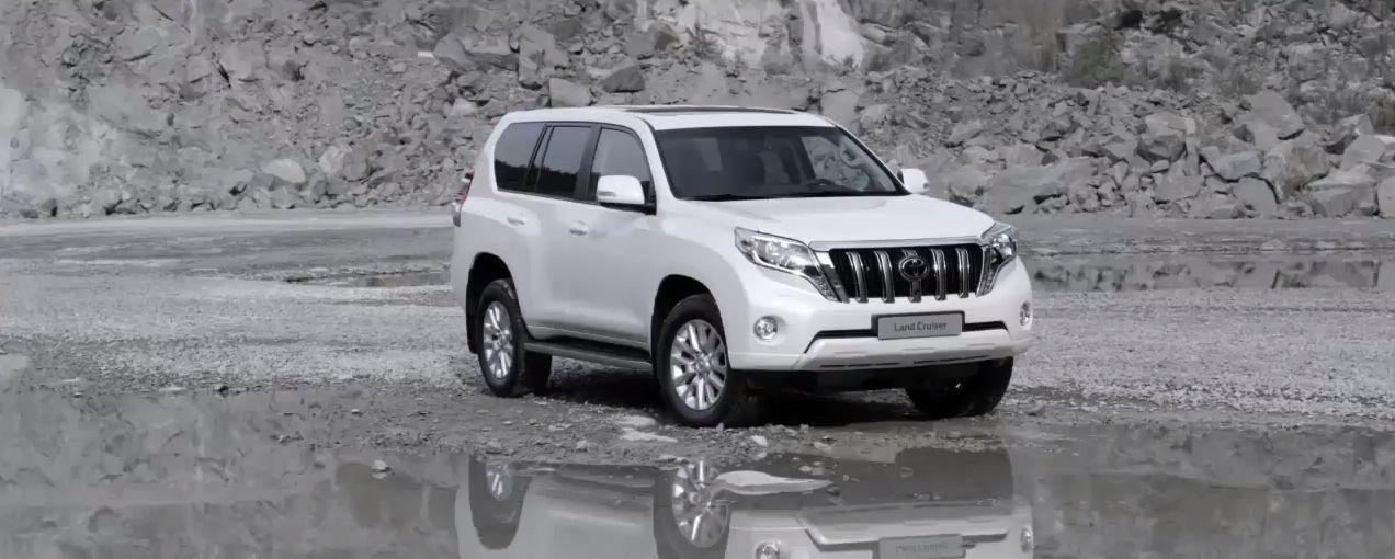 2014 Toyota Land Cruiser Prado leaks online [Video]