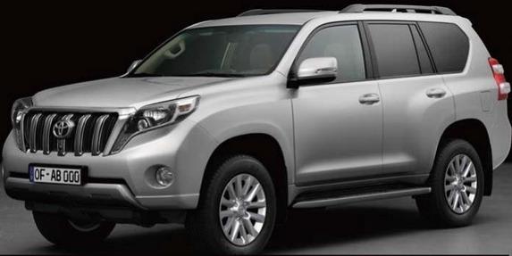 2014 Toyota Land Cruiser Prado front