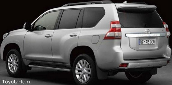 2014 Toyota Land Cruiser Prado rear