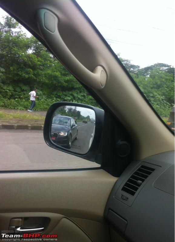 Audi A3 Sedan spied front headlight