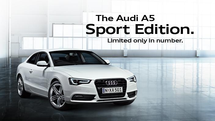 Audi A5 Sport Edition Australia