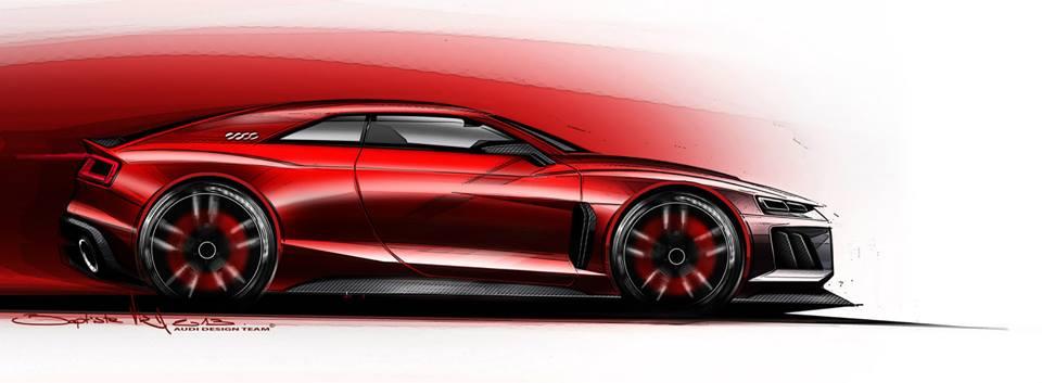 Audi Frankfurt Showcar side