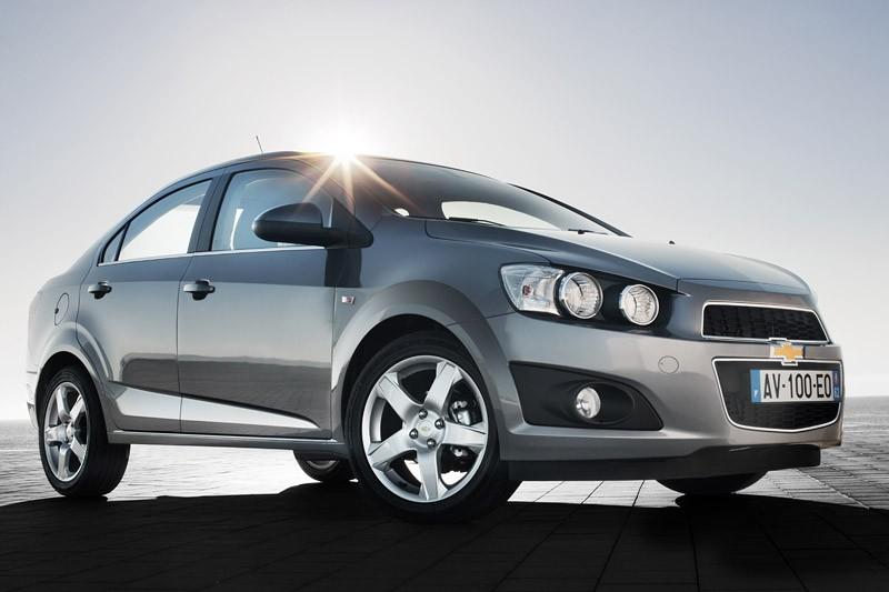 Chevrolet Aveo sedan Europe