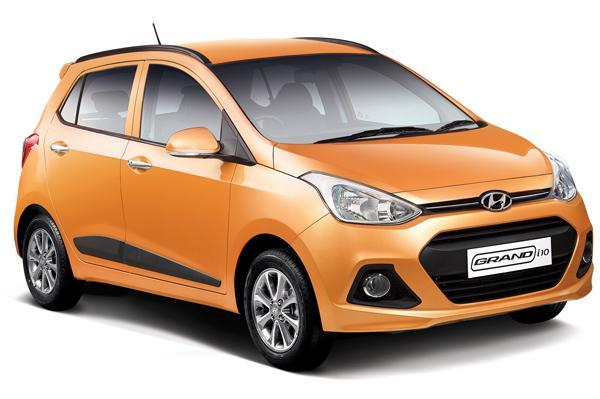 Hyundai Grand i10 India front