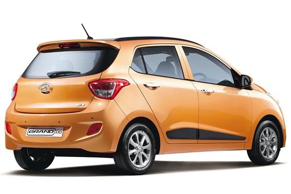 Hyundai Grand i10 India rear