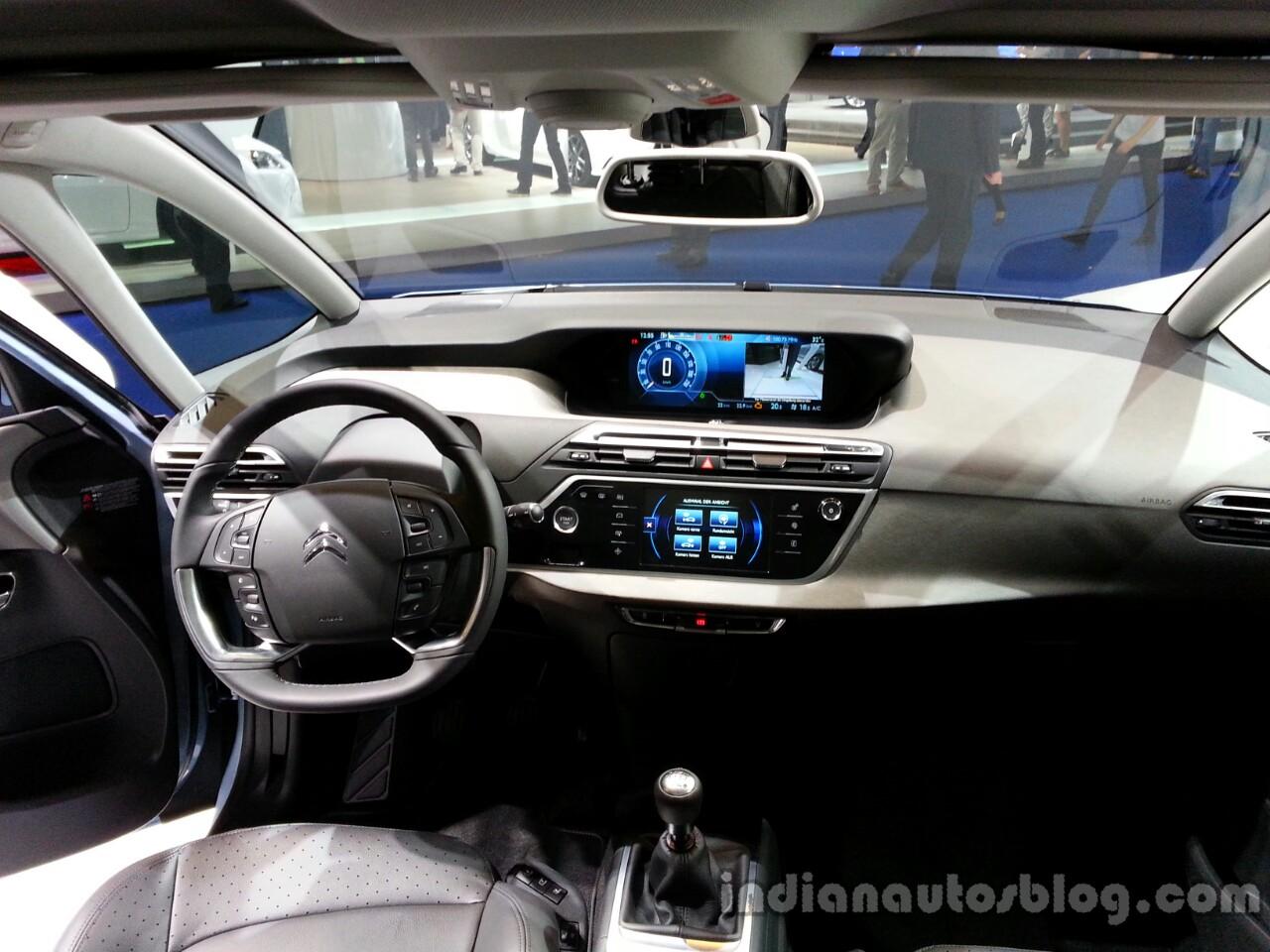 Interior of the 2014 Citroen Grand C4 Picasso