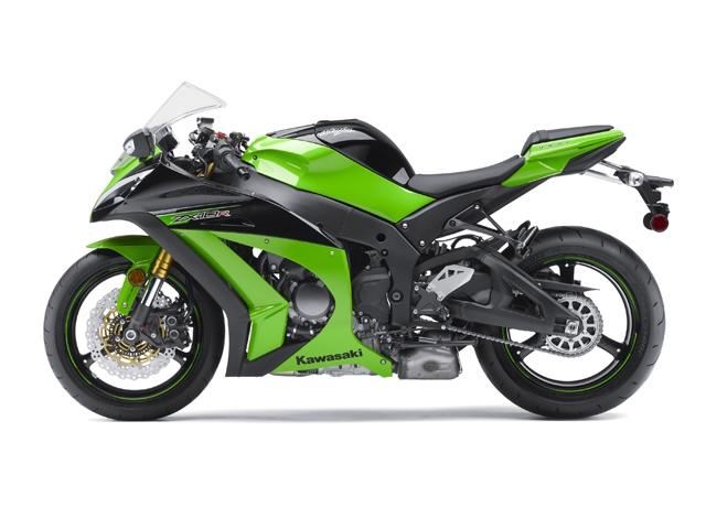 Kawasaki Ninja ZX10-R side