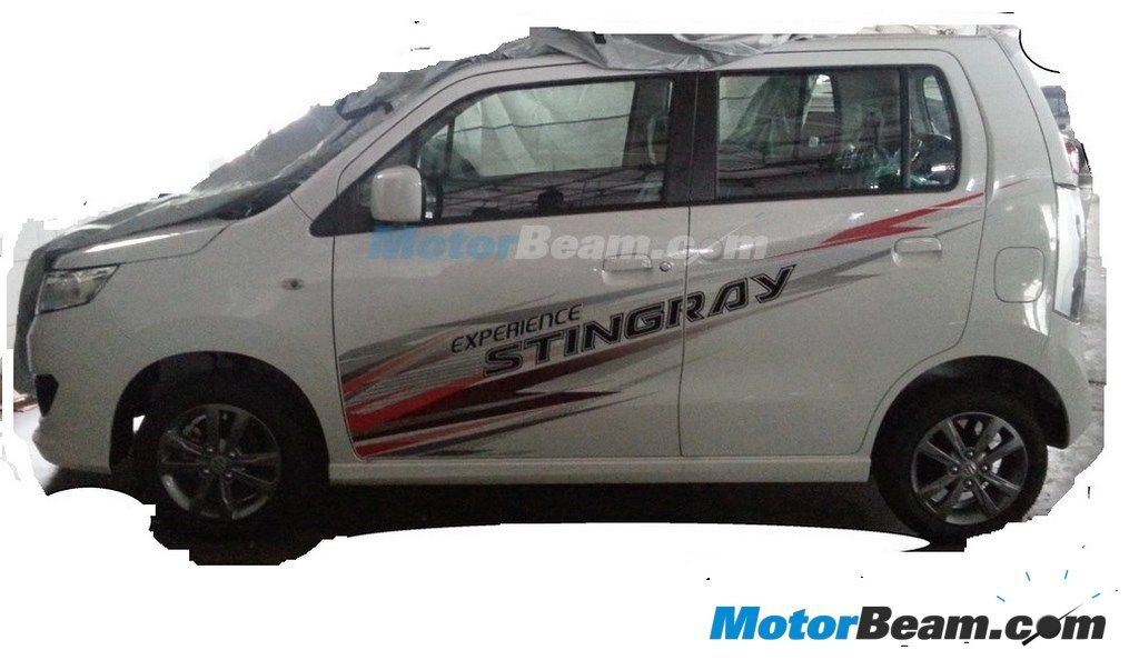 Maruti Wagon R Stingray Side view