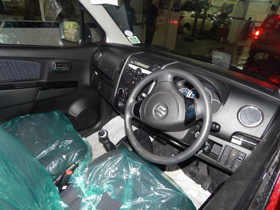 Maruti Wagon R Stingray spied interiors